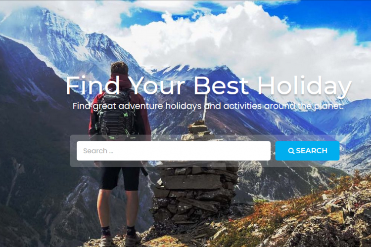 Trekking web design